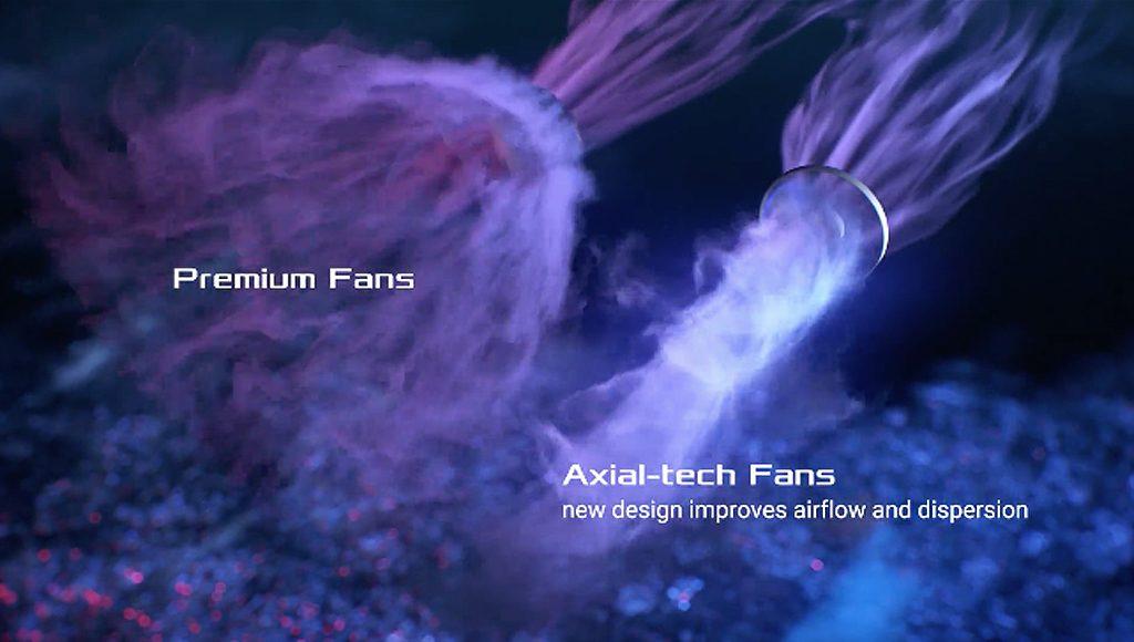 Axial-techファン設計