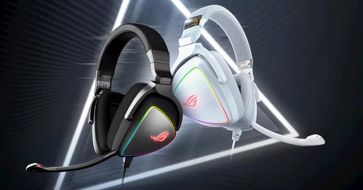 ASUSのハイレゾ対応ゲーミングヘッドセットに新色「ROG Delta White Edition」登場