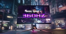 NVIDIA與ROG發表共同開發的史上最快電競螢幕「ASUS ROG Swift 360」