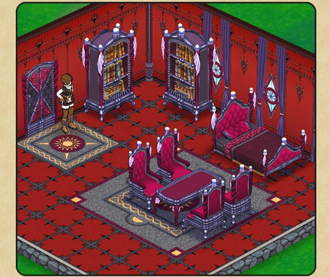 ウィザードシリーズの家具