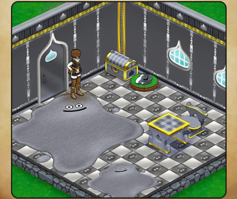 メタルスライムシリーズの家具