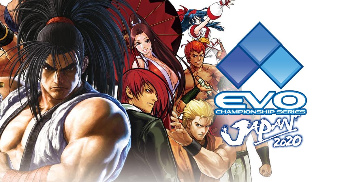 「EVO Japan 2020」SNKブース出展決定!ブースで格闘ゲーム大会開催&「サムライスピリッツ ネオジオコレクション」初試遊も!