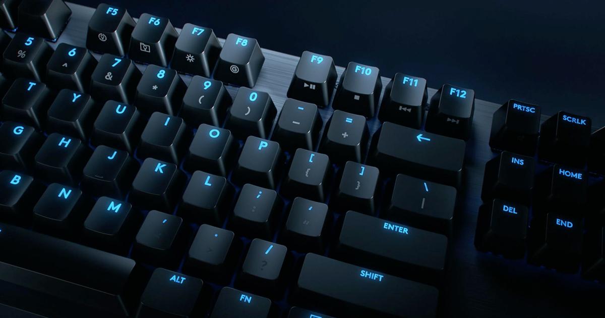 羅技 新版「G512 機械式遊戲鍵盤」登場!