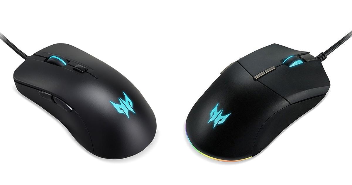 Acerのゲーミングブランド「Predator」シリーズより新作マウス「Predator Cestus 310」「Predator Cestus 330」発売