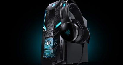 AcerがパワフルでありながらクールなデザインのゲーミングデスクトップPC「Predator Orion 3000」発売