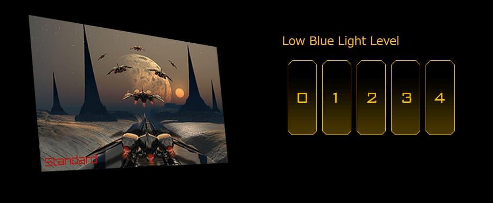 ブルーライト軽減機能