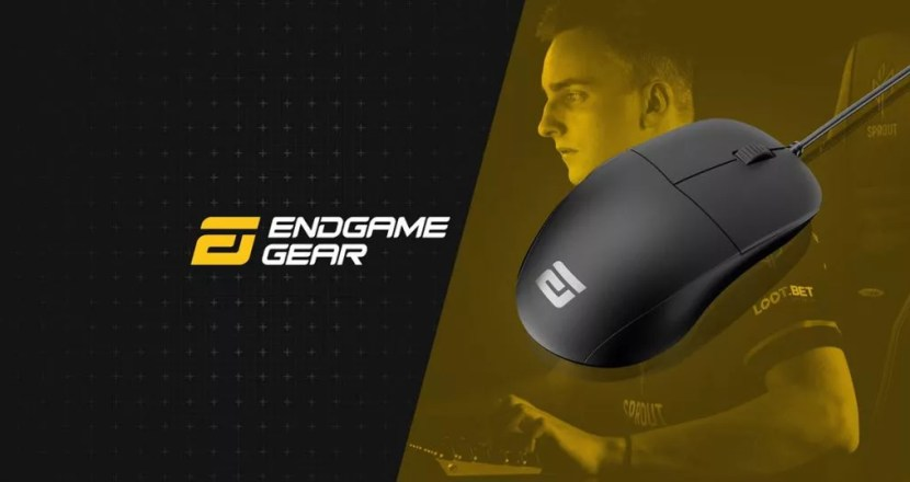 世界最速プロフェッショナルゲーミングマウス ENDGAME GEAR「XM1 Flex Cord cable Ver.」発売!