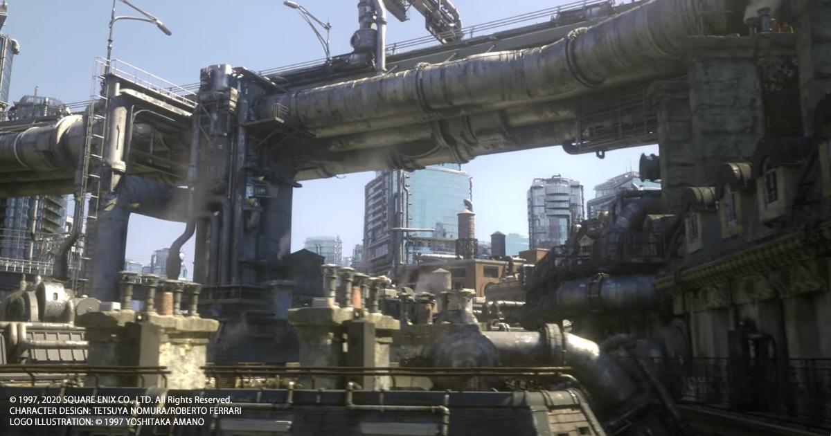 FINAL FANTASY VII REMAKE突發公開遊戲本篇預告片!