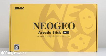 【開封編】ただのアケコンじゃない!機能充実の「NEOGEO Arcade Stick PRO」をレビュー!