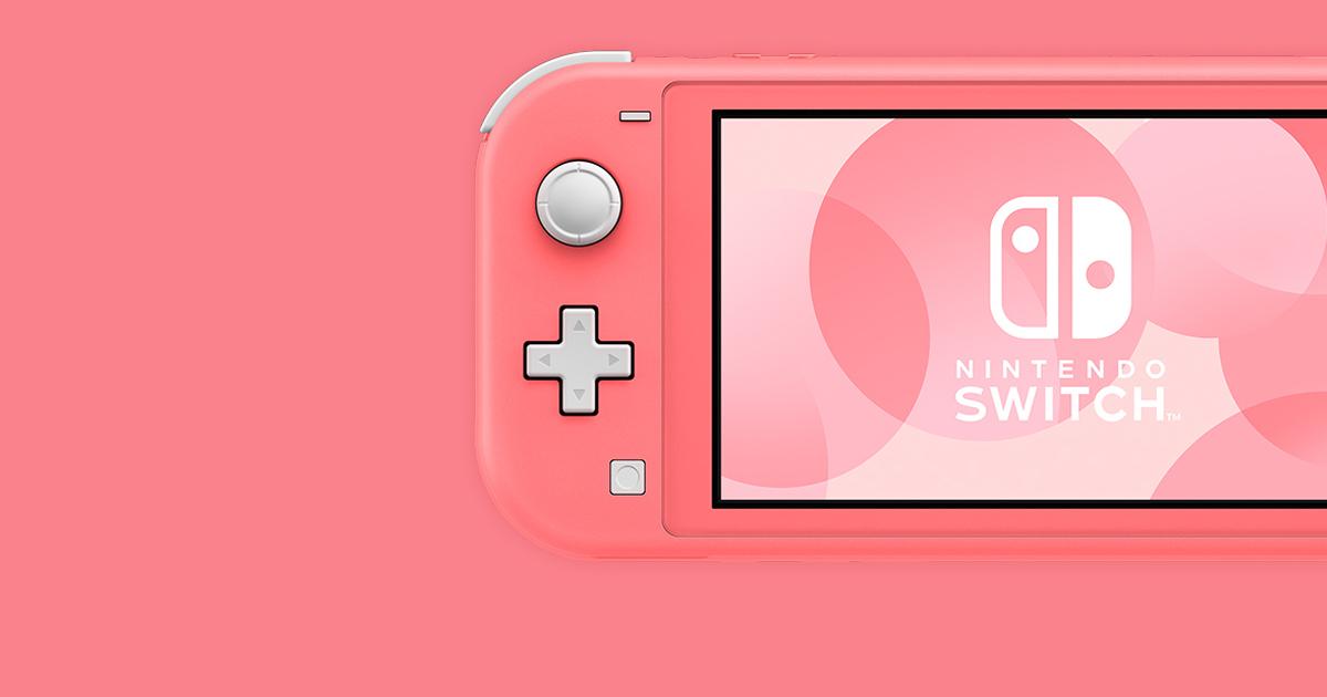 春天來了!Nintendo Switch Lite 「珊瑚色」新登場!