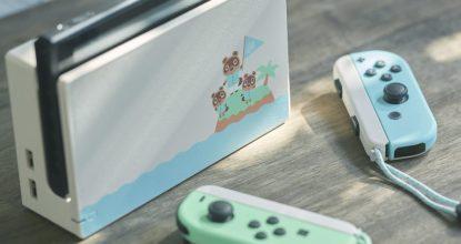 延期發售的「Nintendo Switch 集合啦!動物森友會 限定版主機(日本)」預約重啟!