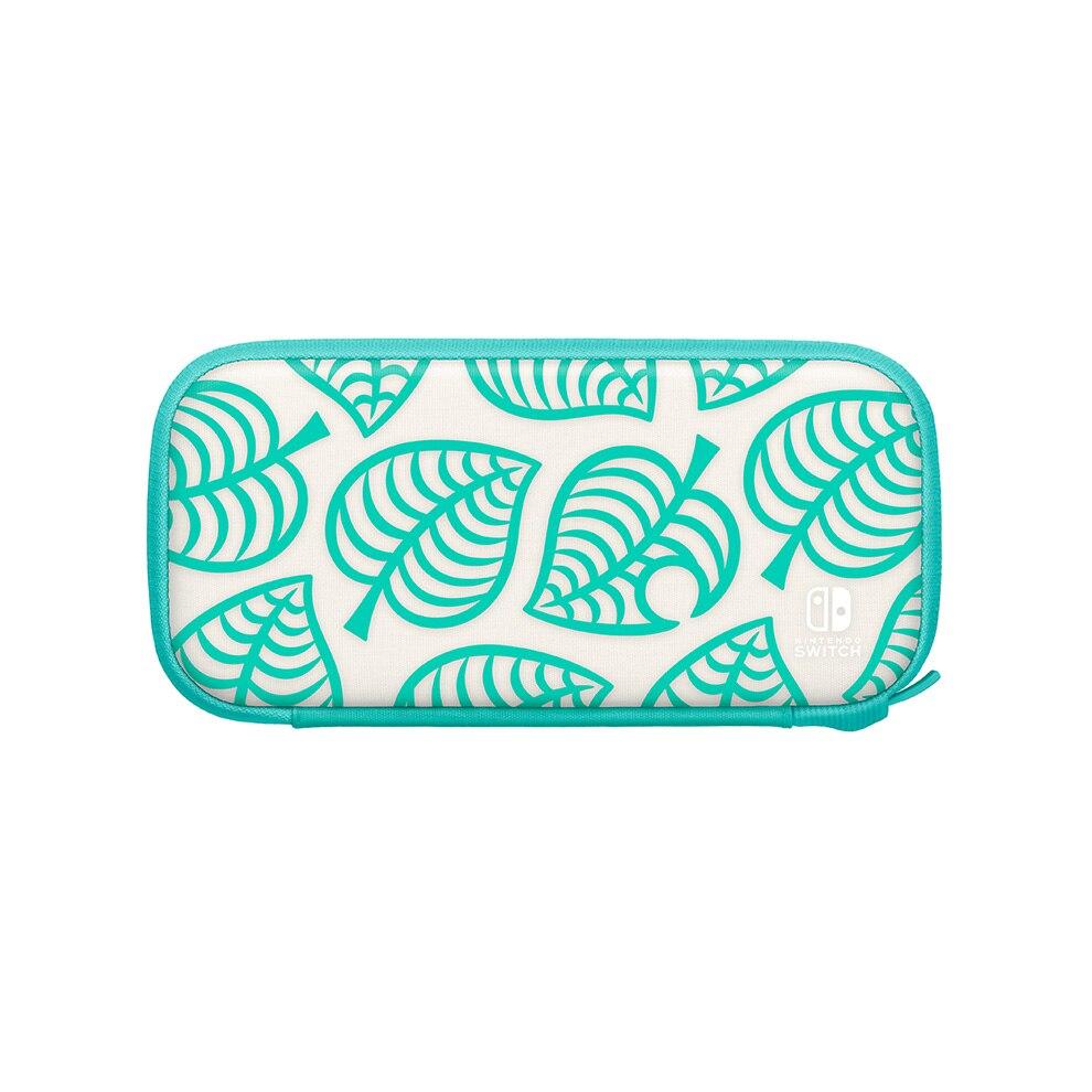 Nintendo Switch Lite便攜包「集合啦!動物森友會版〜Nook夏威夷花紋〜」(正面)