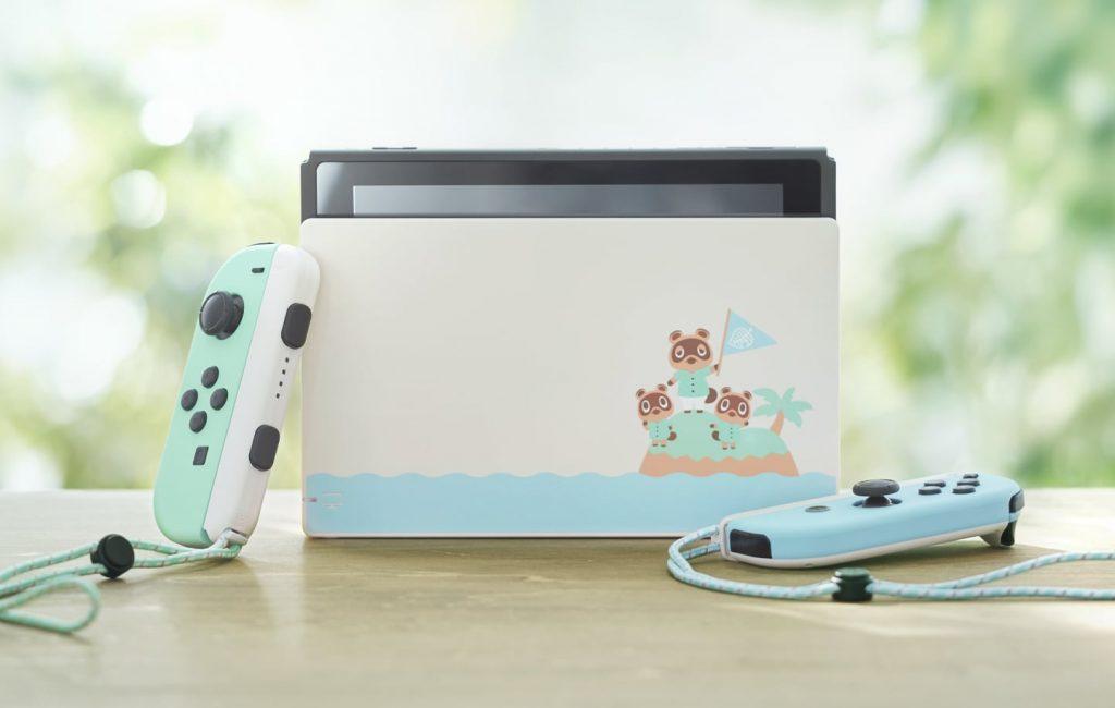 Nintendo Switch 集合啦!動物森友會