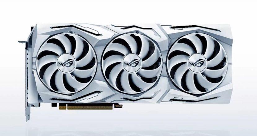 もちろん光る!GeForce RTX 2080 Super搭載のファン付きビデオカード「ROG-STRIX-RTX2080S-O8G-WHITE-GAMING」発表