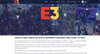 世界最大のゲームイベント「E3 2020」が新型コロナウイルス(COVID-19)の影響により中止を発表