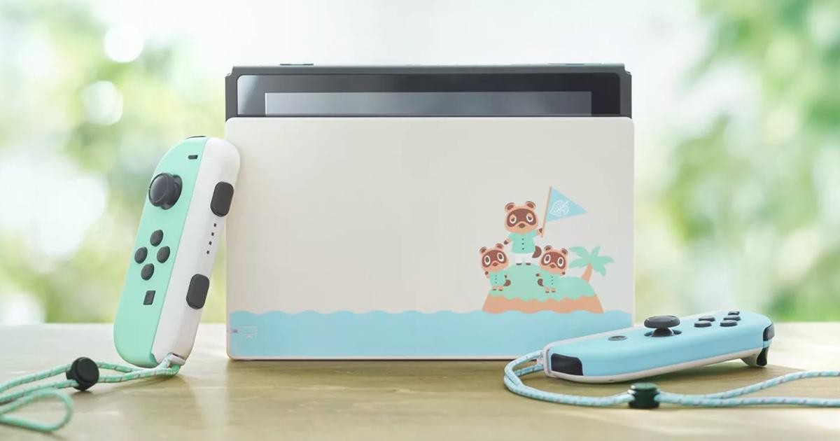 My Nintendo Store上的「Nintendo Switch 集合啦!動物森友會 限定版主機」預售喊卡