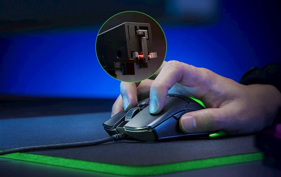 Razer™ オプティカルマウススイッチ