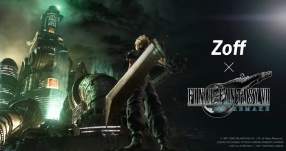 「Zoff×FINAL FANTASY VII REMAKE」のコラボPCメガネが登場!目に優しいブルーライトカット付き