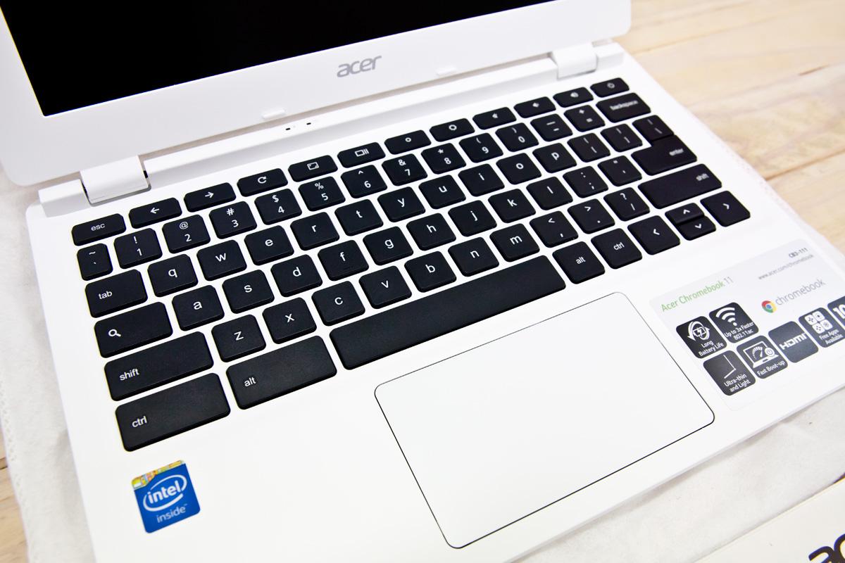 Acer Choromebook11 USキーボード