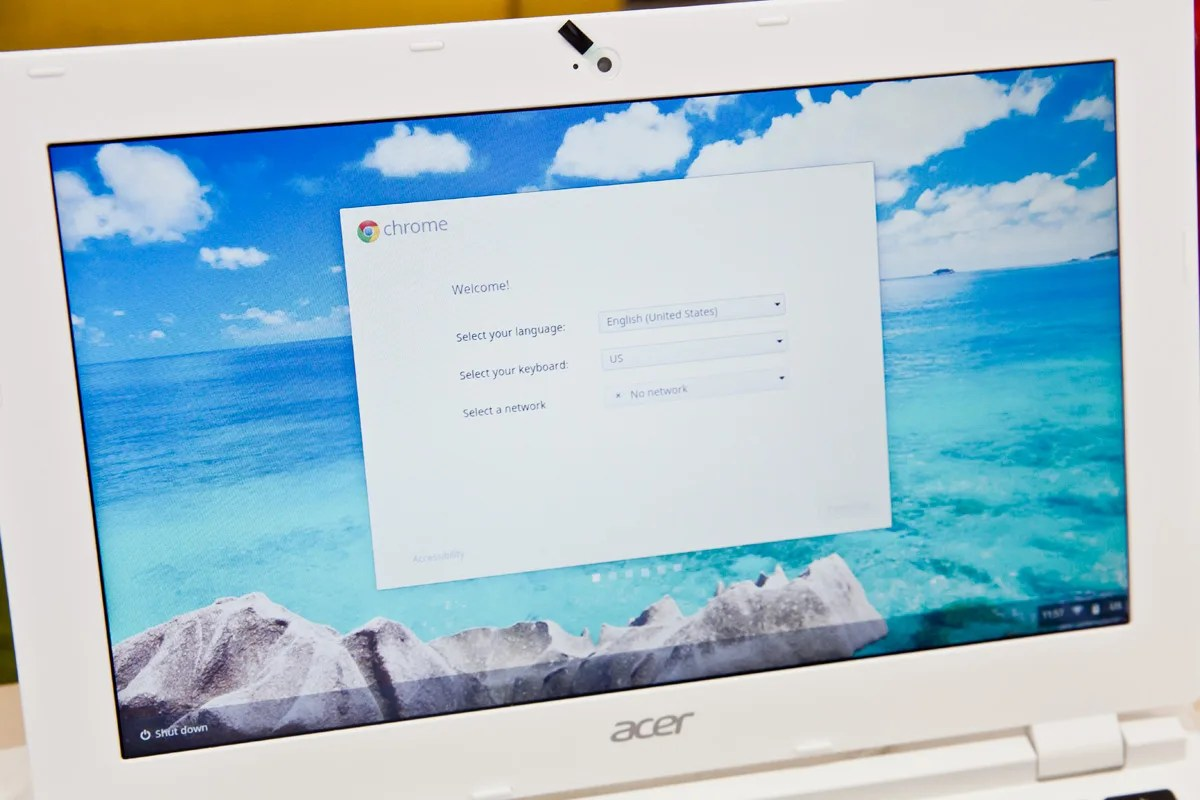Acer Choromebook11 お手軽なセットアップ