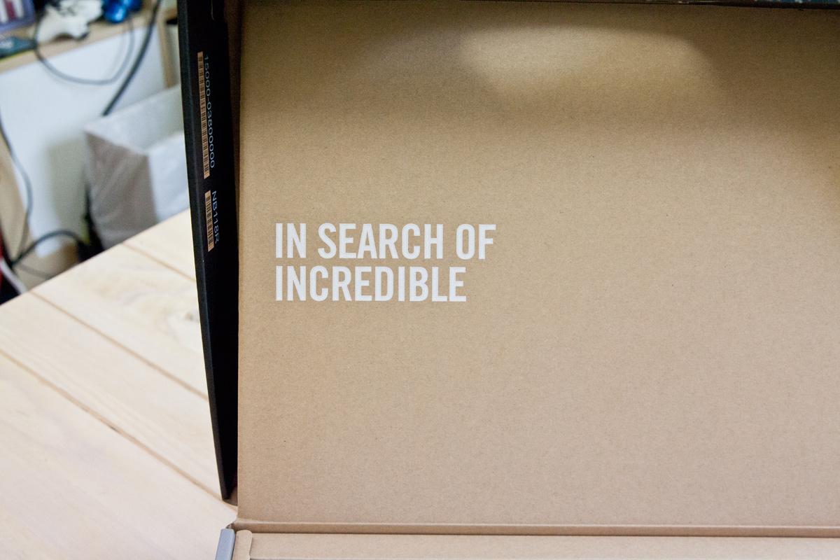 ASUS Chromebook C300MA 箱の中のキャッチコピー