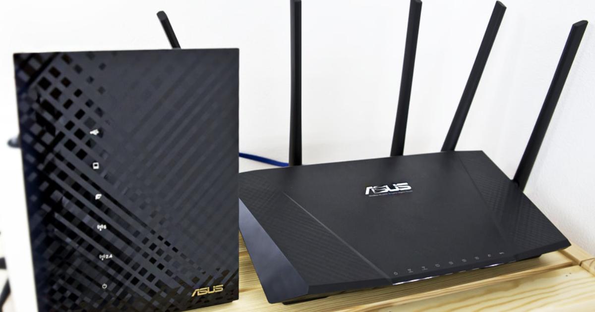 2Fと4Fを繋ぐ!オフィスが2フロア(複数階)になったので別フロア用にASUS「RT-AC1200HP」を購入!