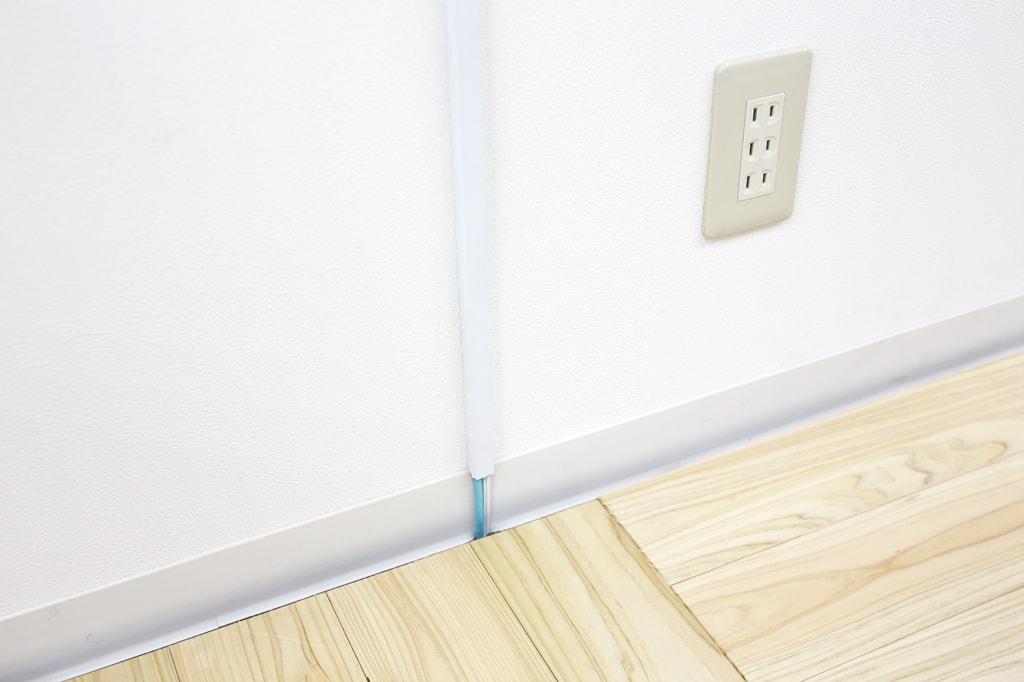 床下から配線 天井へ