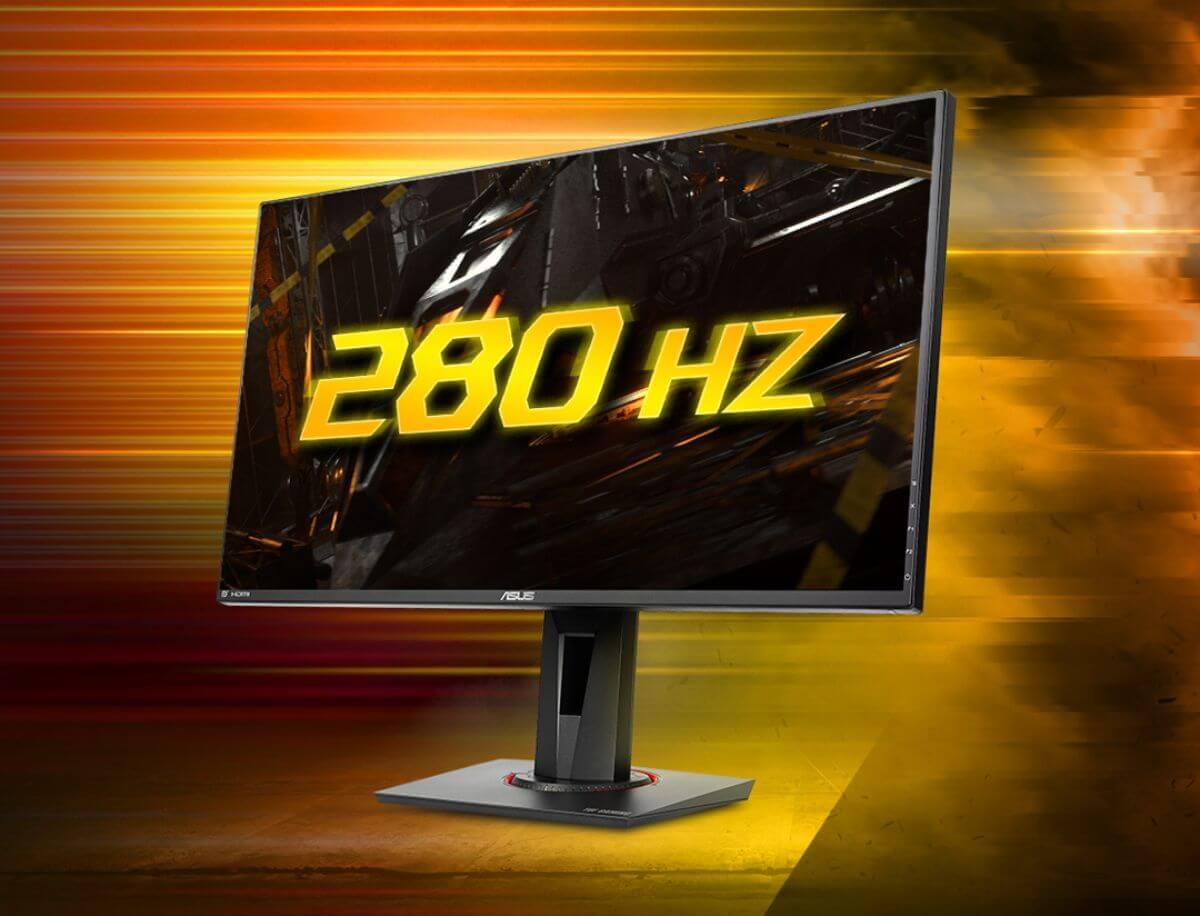 世界最速 リフレッシュレート280Hz
