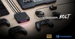 4K/60fps HDR対応のキャプチャーユニット AVerMedia「Live Gamer BOLT – GC555」を日本国内で発売