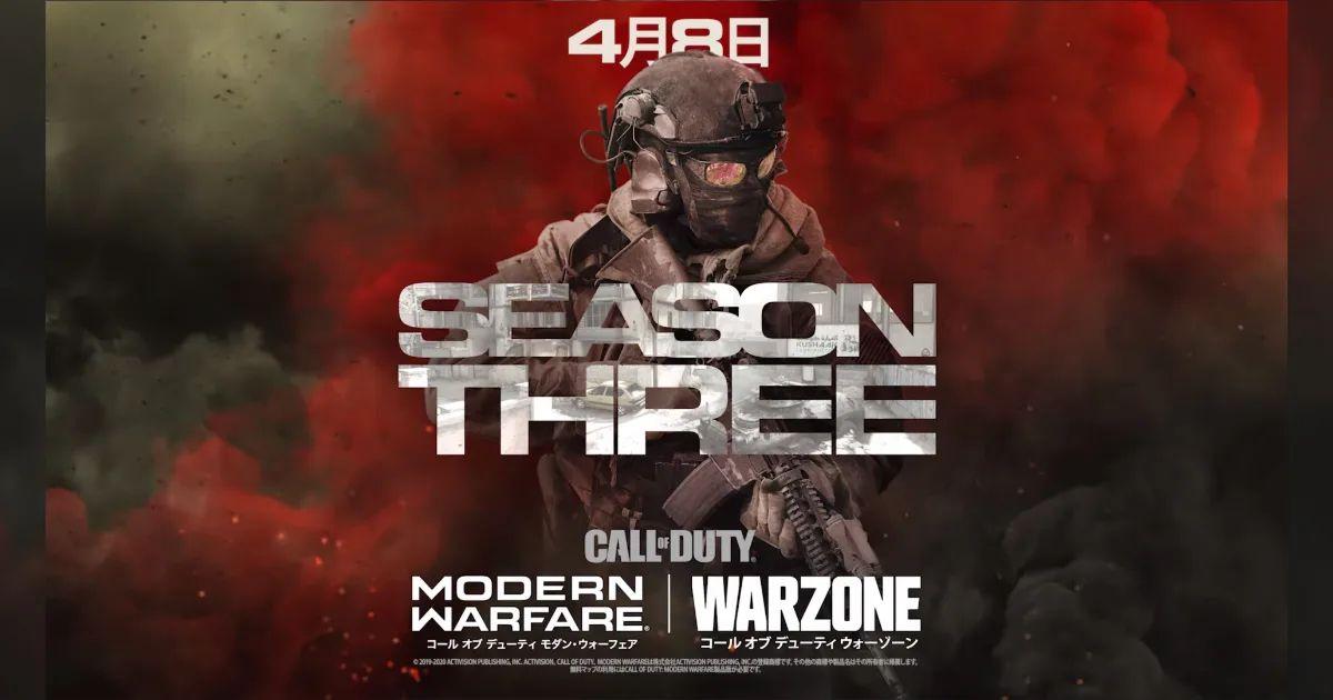 Call of Duty待望の「Season Three」アップデートが配信開始!「Warzone」に4人スクワッドモードの追加や、新バトルパス、武器、マップなど実装!