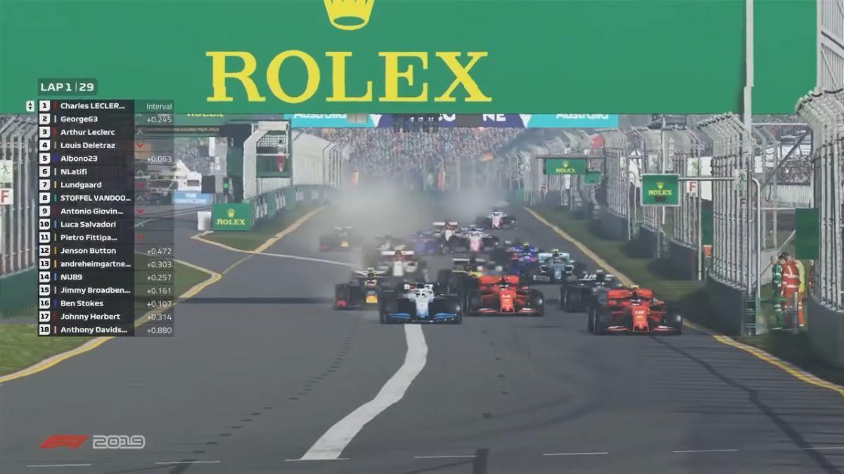 リアルなレース体験ができる「F1 2019」