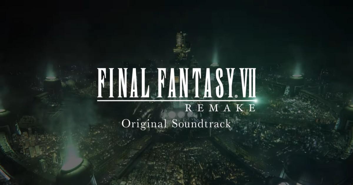 共收錄了180首樂曲!「FINAL FANTASY VII REMAKE」原聲OST大碟的特典圖和部份的歌曲都在官網公開了!