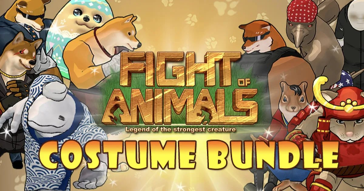 「Fight of Animals」で動物たちの新コスチュームが配信開始!アップデートも実施!