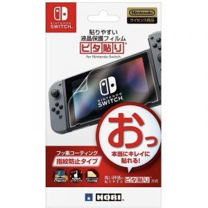 """HORI - 貼りやすい液晶保護フィルム""""ピタ貼り"""" for Nintendo Switch"""