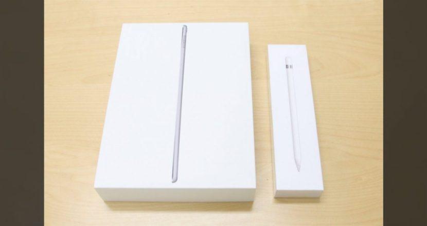iPad Pro 9.7インチディスプレイ+Apple Pencilを購入したので開封式&使ってみた!