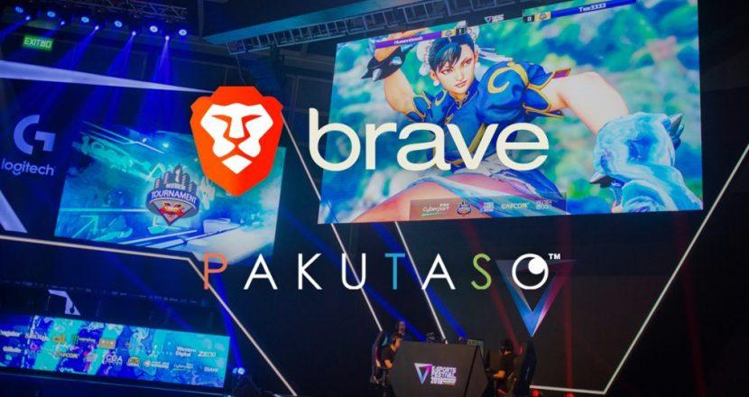 eスポーツフリー素材を無料配布する「ぱくたそ」がBrave認証サイトに!
