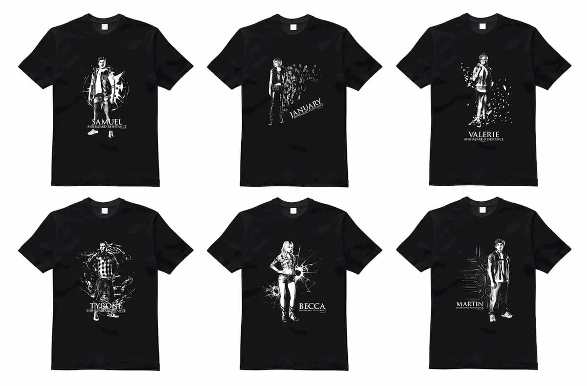 「バイオハザード レジスタンス」オリジナルTシャツ