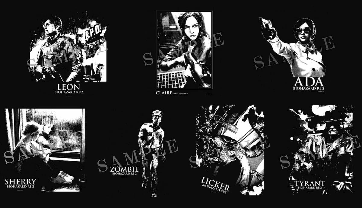 「バイオハザード RE:2」オリジナルTシャツ