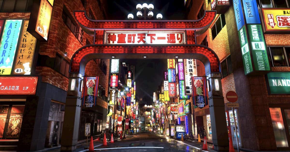 線上聚會背景圖片!SEGA推出免費「人中之龍」街景背景圖!