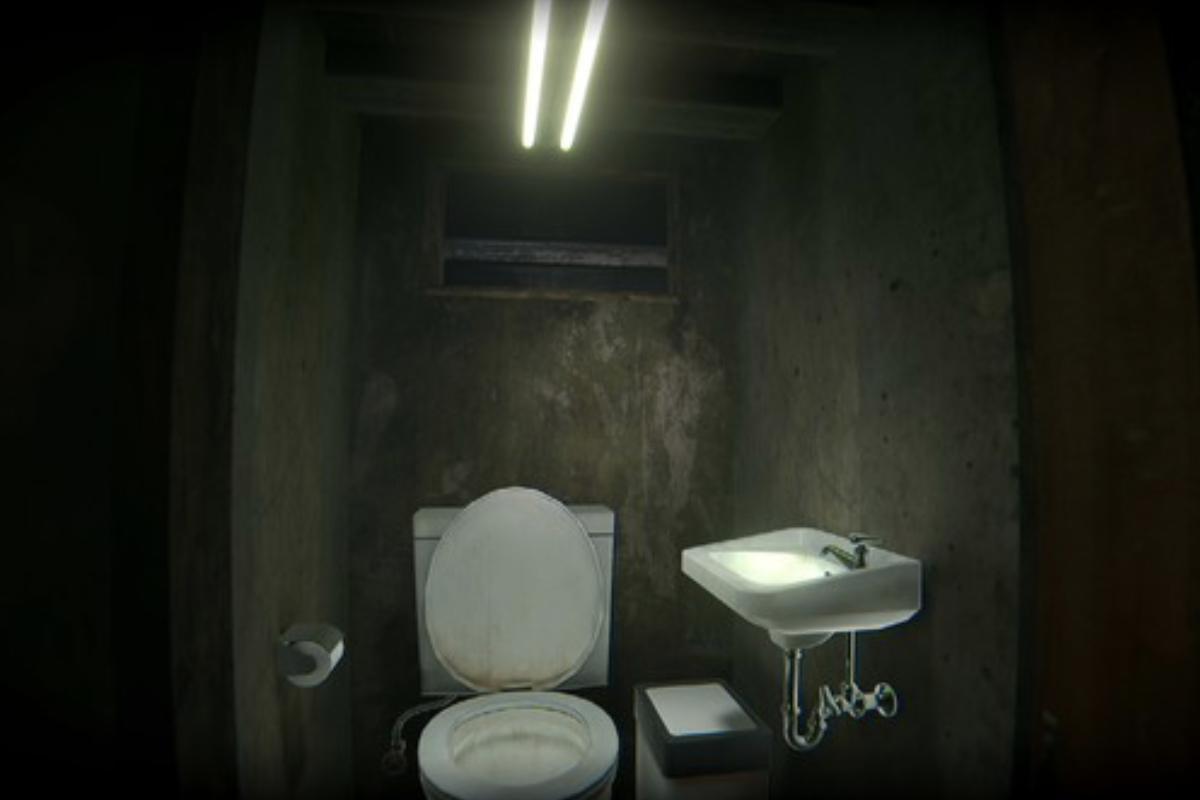 トイレの汚れも綺麗に表現