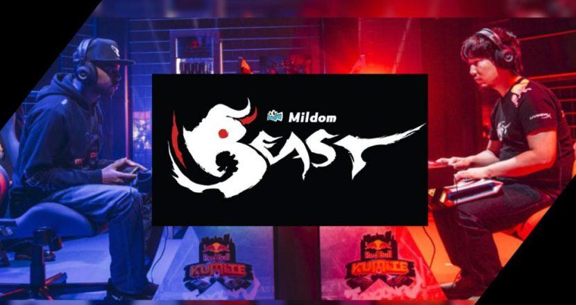 梅原選手電競團隊「Team Beast」和鬥魚營運「Mildom」簽約