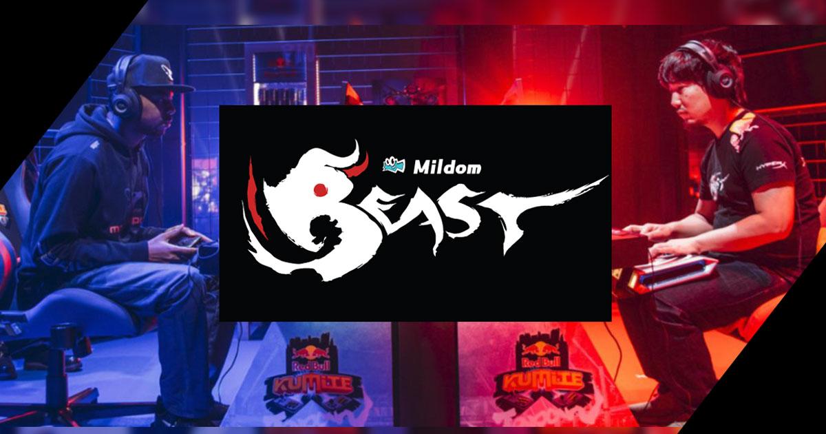 ウメハラ選手らが所属するプロ格闘ゲームチーム「Team Beast」とMildomがスポンサー契約締結!