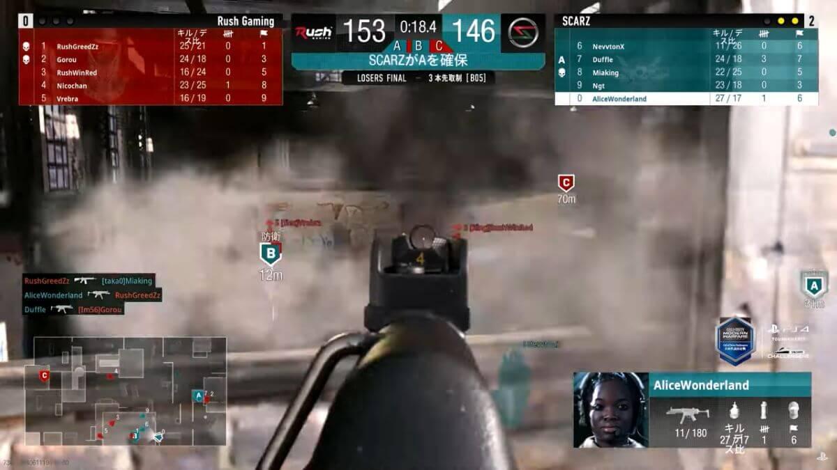 Rush Gaming VS SCARZ