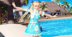 透ける水着が再登場!DOAXVVに爽やかなブルーのワンピース「ネイキッドサマー」登場!