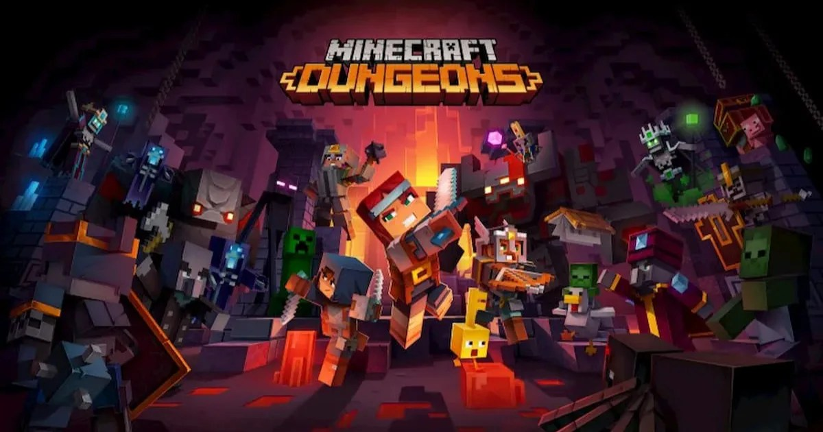 Minecraft動作冒險新作Minecraft Dungeons登上Switch、PS4、Xbox One、PC平台