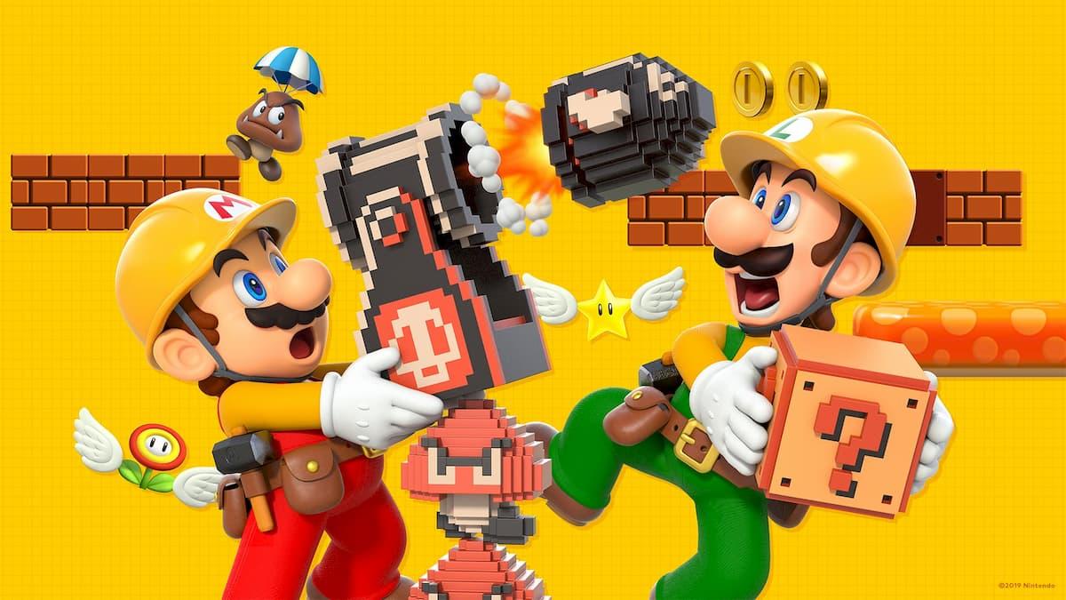 Super Mario Maker 2 壁紙