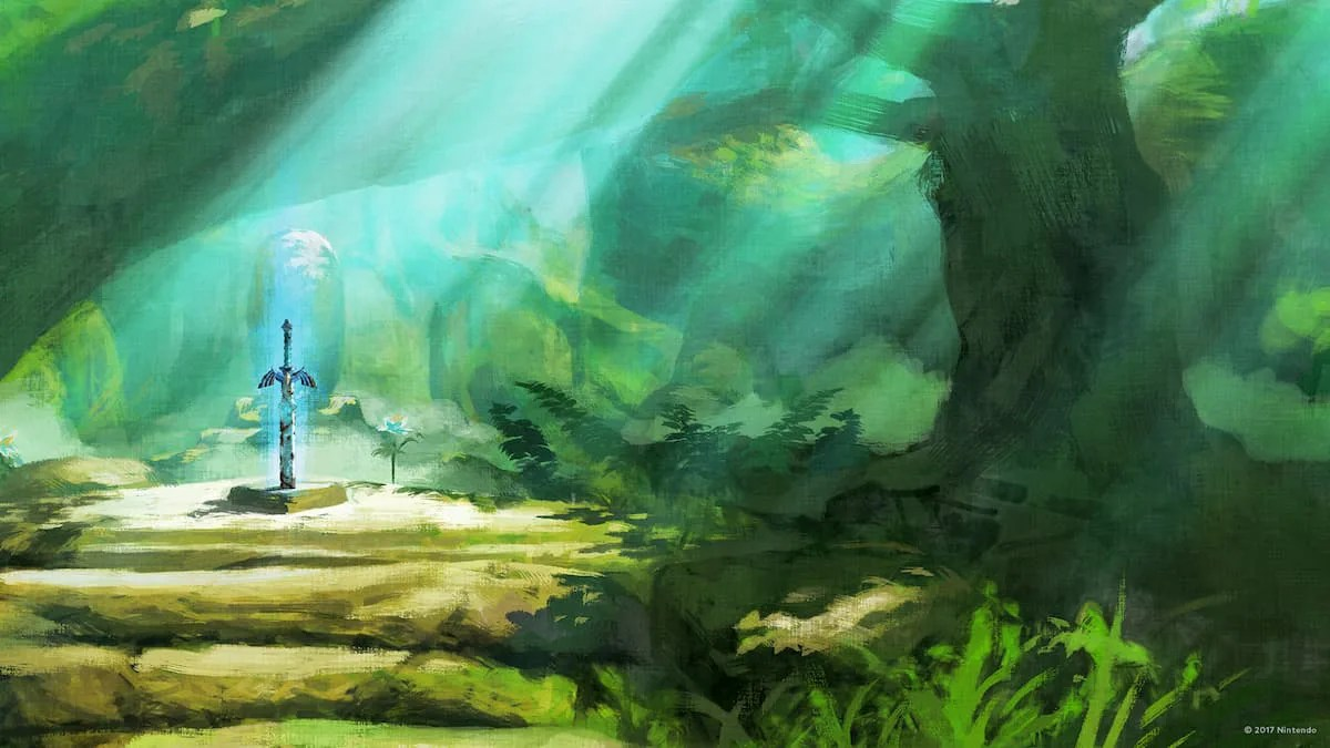 薩爾達傳說 曠野之息 壁紙