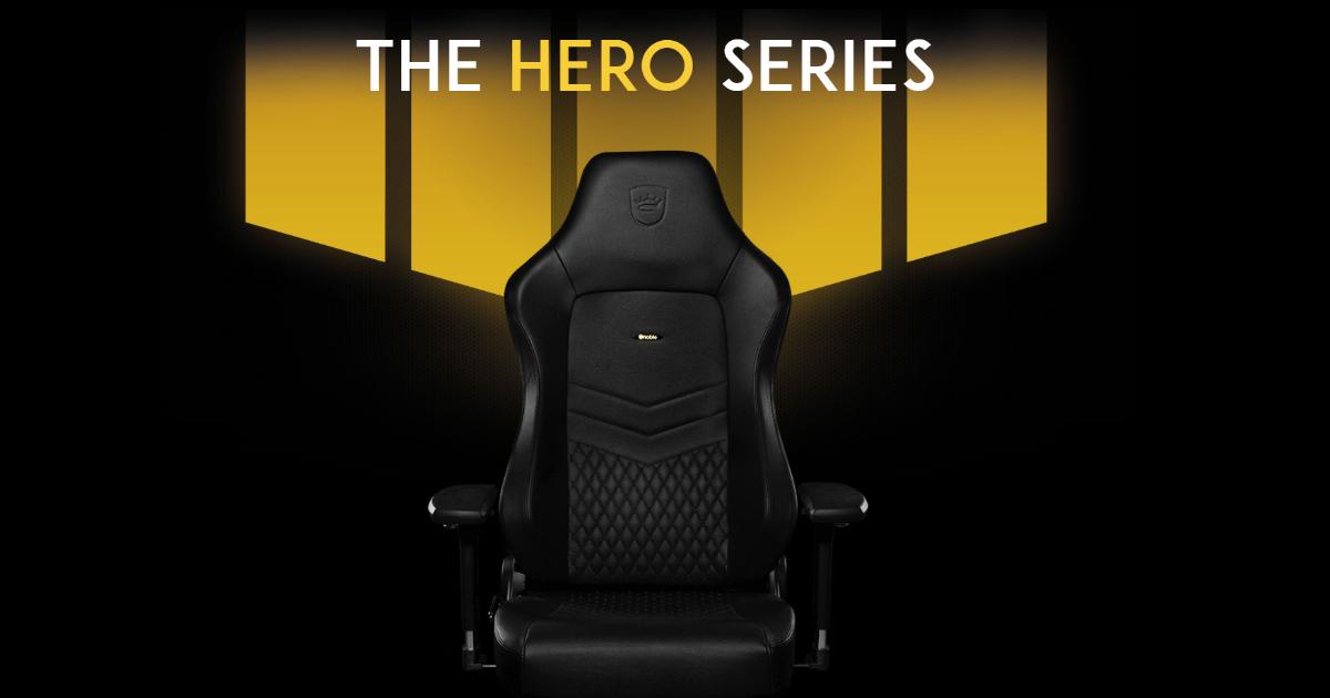 ドイツのゲーミングチェアブランド「noblechairs」から日本初展開となるモデル「HERO」が販売開始