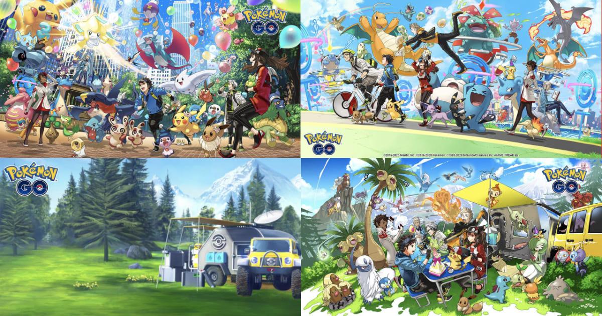 Pokémon GO虛擬背景桌布免費供下載!
