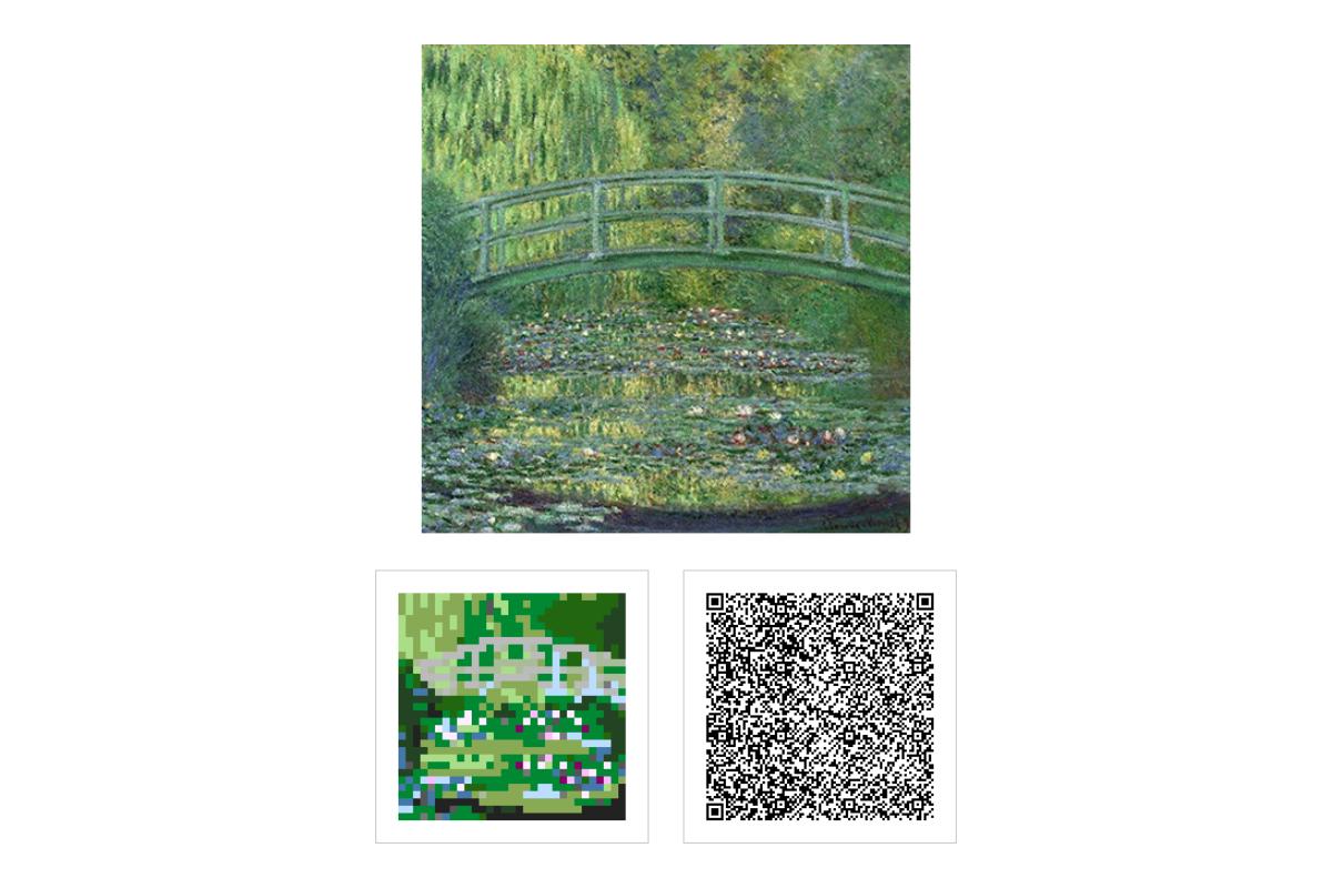 クロード・モネ《睡蓮の池》1899年